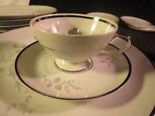 JAEGER & CO  Silver Glory Cup & Saucer
