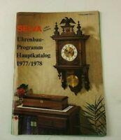 Selva Uhren Katalog Uhrenbau Programm 1977 1978 Prospekt H-10880
