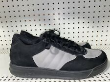 Reebok S Carter Classic Low Mens Leather Athletic Shoes Size 10 Black Gray Jay Z