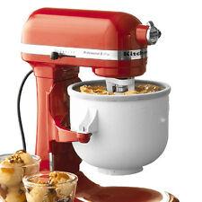 KitchenAid Ice Cream Maker Attachment Bowl for 5 & 6 Quart Stand Mixers