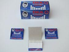 Styptic Pencils Disposable Stops Cuts Bleeding 24 Matchbooks 480 Matchsticks