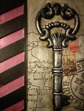 Key to Paris. Upcycled art