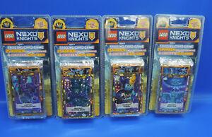 Lego® Nexo Knights 2 Trading Card Game 4 Blister+100 Karten+Le12,Le13,Le14,Le15