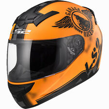 Casco Integrale Ls2 Ff352 Rookie Fan Matt Orange XL