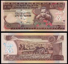 ETHIOPIA 10 BIRR (P48d) 1998/2006 UNC