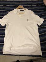 Rag & Bone New York Mens White Logo Standard Issue Short Sleeve Polo Shirt  L