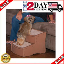 2 Step Pet Ladder Dog Cat Puppy Stairs Steps Ramp Bed Sofa