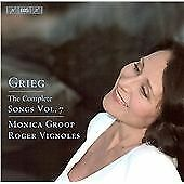 Grieg - Songs, Vol 7, , Audio CD, New, FREE & FAST Delivery