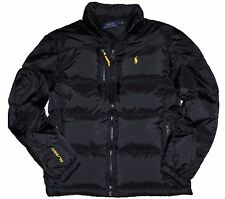 NWT Ralph Lauren Polo Big & Tall Men's Down Jacket Trek Black Winter Coat 3XB