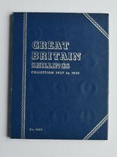 More details for whitman shillings 1937-1951 full  coin set  complete collection