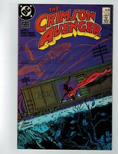 The Crimson Avenger # 2 Comic Book 1988 DC Comics