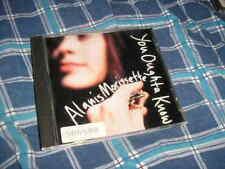 CD Pop Alanis Morissette You Oughta Know promo MAVERICK