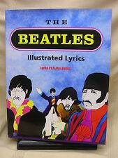 The Beatles Illustrated Lyrics Edited By Alan Aldridge Hard Cover Dust Jacket