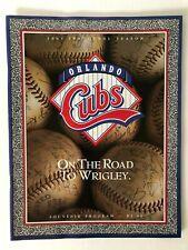 """Vintage Minor League Baseball Game Programs 1987 - 1993 Season """"Pick A Program"""""""