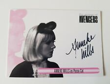 Unstoppable Cards The Women of the Avengers Anneke Wills Autograph Card