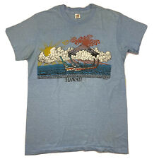New listing Vintage 70s Hawaii Single Stitched Hanes Made In Usa T-Shirt Size Small