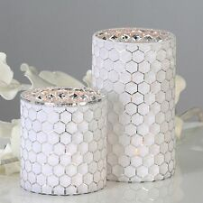 Einarmige Deko-Kerzenleuchter aus Glas