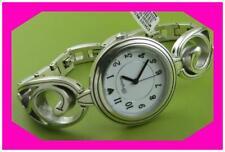 Watch Nwtag w Pouch $120 Brighton Echoes Teardrop Scroll Silver Bracelet