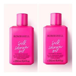 Victoria's Secret BOMBSHELL Oil-to-Cream Body Wash ~ 8.4 fl.oz. ( Lot of 2 )