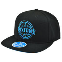 NBA Adidas Detroit Piston Cavs NM41Z Snapback Neon Adjustable Basketball Hat Cap