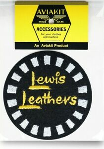 Official Round Checker Patch by Lewis Leathers Aviakit