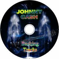 JOHNNY CASH GUITAR BACKING TRACKS CD BEST OF GREATEST HITS MUSIC PLAY ALONG MP
