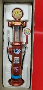 Jeff Gordon #24 Chromalusion 1998 gas pump coin bank NIB