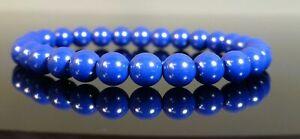 Lapis Bracelet Simulated Gemstone 8mm