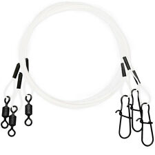 Eagle Claw Clear/Bright Heavy Duty Wire Leaders Assorted Pack