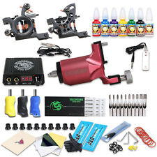 New Style Tattoo Rotary Guns and Coil Machine Kit Liner & Shader Immortal Inks