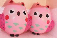 Jumbo Kawaii Owl Bird Squishy Slow Rising Scented Hand Pinch Charms Soft Toys