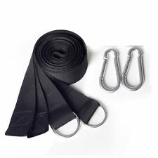 FR_ EG _ hamac suspendu Ceinture ARBRE sangle nylon corde CAMPING PLEIN AIR + 2