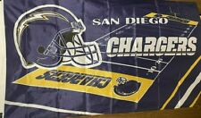 San Diego Chargers FIELD DESIGN 3 x 5 Flag ! Brand New ! Quick Shipping !!