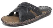 Scarpe da uomo neri sintetici marca Bata