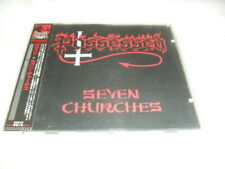 POSSESSED -SEVEN CHURCHES- AWESOME RARE 1998 PRESS CD CENTURY GERMANY FOR JAPAN
