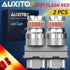 3757 4157 3157 3047 3156 Red LED Stop brake Tail Light Bulb Flash Strobe Blink