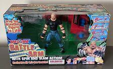 WCW TOYBIZ BATTLE ARM GOLDBERG SLAM ACTION BOXED WRESTLING 2000 WWE WWF