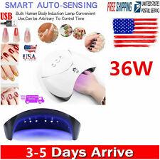 36W LED UV Nail Polish Dryer Lamp Gel Acrylic Curing Light Professional Machine