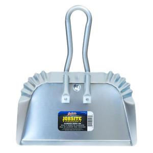 Quickie Aluminum Dust Pan Floor Cleaner Heavy Duty Indoor Outdoor 17 Inch Tool