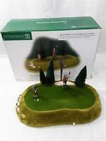 Dept 56 Village Animated Perfect Putt #52508 For Parts or Repair With Box