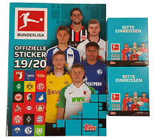 Topps Bundesliga Sticker Saison 2019/2020 Album + 2 x Display - 72 Tüten 19/20