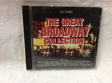 The Great Broadway Collection (CD, Jun-1996, 3 Discs, Otello)