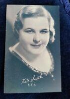 KATE SMITH Arcade Exhibit Card 1940's RARE ARCADE CARD
