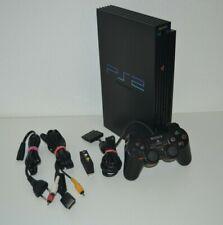Original Sony Playstation 2 - Ps2 - Konsole Fat + Original Controller + Kabel