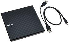 Asus SDRW-08D2S-U 8X Slim Portable USB External CD DVD RW Burner Writer Drive