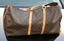 Auth. Vintage Louis Vuitton Monogram Classic Duffle Bag Purse damaged for parts