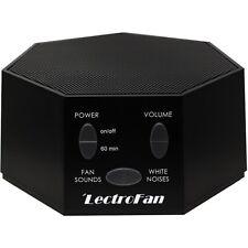 LectroFan - White Noise and Fan Sound Machine - Black