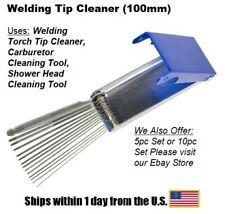 TIP CLEANER-100mm for OXYGEN/ACETYLENE for WELDING TIPS-Single Tool Unit