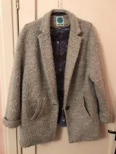 Womens White Stuff Grey Coat Uk Size 16