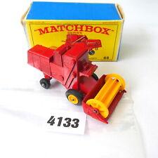 Matchbox Lesney No. 65 Class Combine Harvester / Mähdrescher in OVP #4133